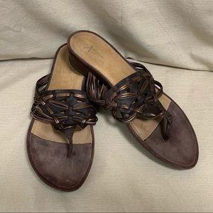 Clark's Artisan 'Tobi' Leather Sandals